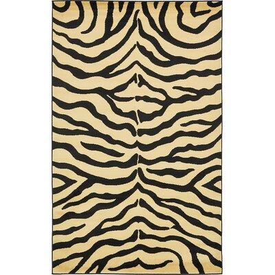 Leif Cream Area Rug Rug Size: 5 x 8