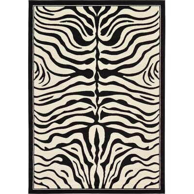 Leif Black Area Rug Rug Size: Rectangle 7x 10