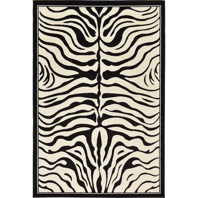 Leif Black Area Rug Rug Size: Rectangle 6 x 9
