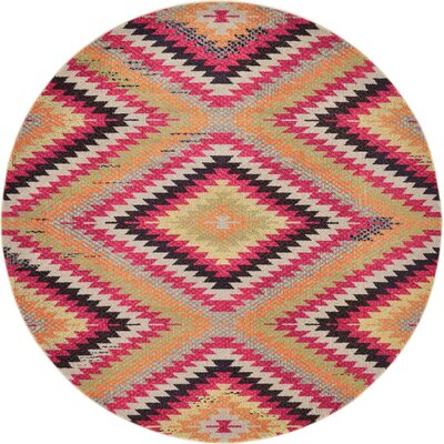 Broadway Area Rug Rug Size: Round 8