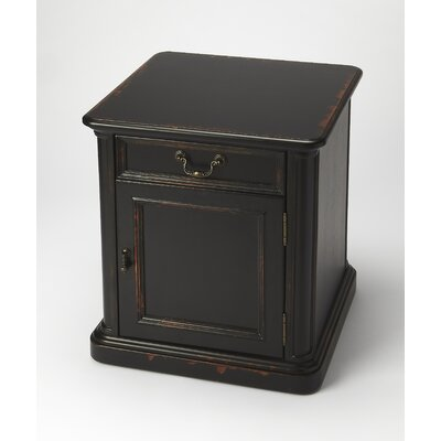 Grand Borendy End Table Finish: Midnight Rose