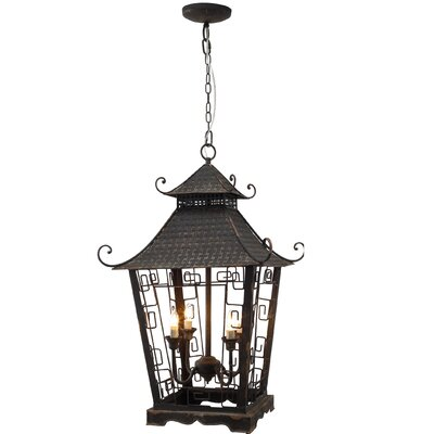 Lyndon 4-Light Foyer Pendant