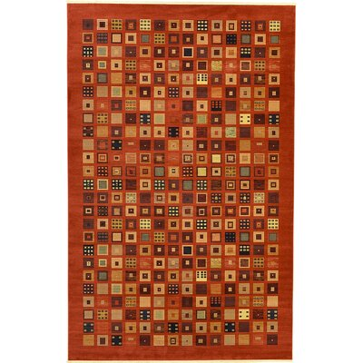 Foret Noire Red Area Rug Rug Size: 106 x 165