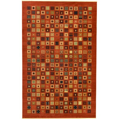 Jan Brown Area Rug Rug Size: 106 x 165