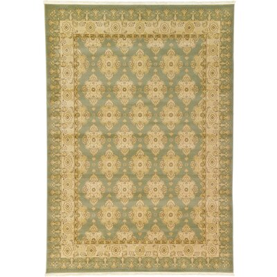 Fonciere Light Green Area Rug Rug Size: 5' x 8'