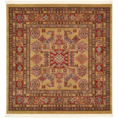 Valley Beige Area Rug Rug Size: Square 4