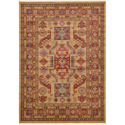 Valley Beige Area Rug Rug Size: 5 x 8