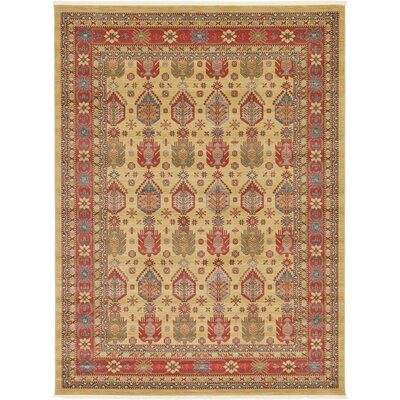 Valley Beige Area Rug Rug Size: 910 x 13