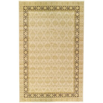 Fonciere Cream Area Rug Rug Size: 106 x 165