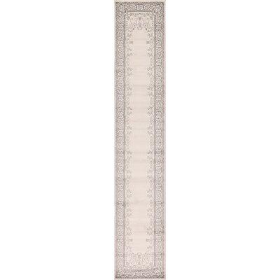 Littoral Cream Area Rug Rug Size: 22 x 32