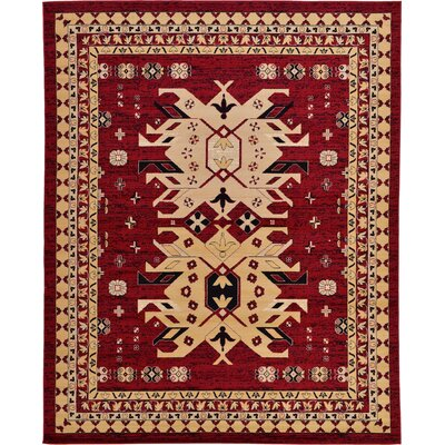 Valley Red Area Rug Rug Size: 22 x 3