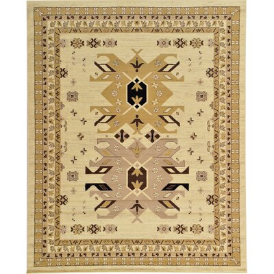 Valley Ivory Area Rug Rug Size: 5 x 8