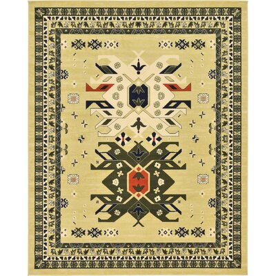 Valley Cream Area Rug Rug Size: 910 x 13