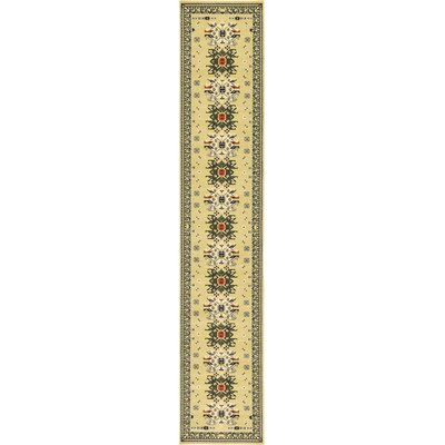 Valley Cream Area Rug Rug Size: Runner 3 x 165