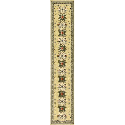 Valley Cream Area Rug Rug Size: Runner 27 x 10