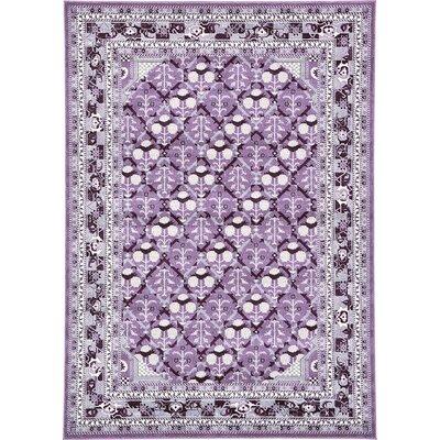 Katiranoma Purple Area Rug Rug Size: 7' x 10'