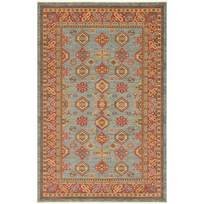 Valley Bright Red Area Rug Rug Size: 106 x 165