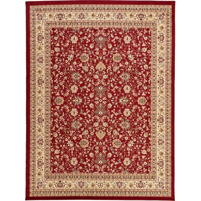 Essehoul Red Area Rug Rug Size: 910 x 13
