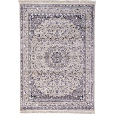 Essehoul Taupe Area Rug Rug Size: 7 x 10