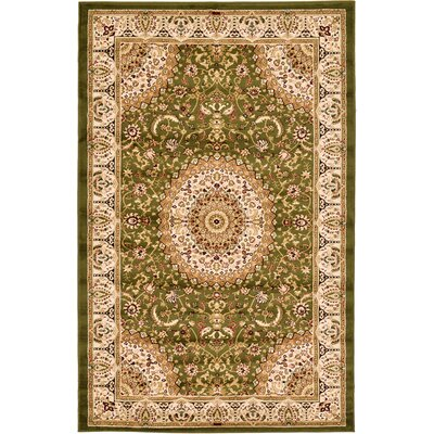 Astral Green Area Rug Rug Size: 5 x 8