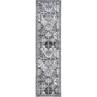 Karlovice Gray Area Rug Rug Size: Runner 27 x 10
