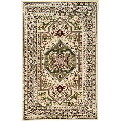 Valley Cream Area Rug Rug Size: 5 x 8