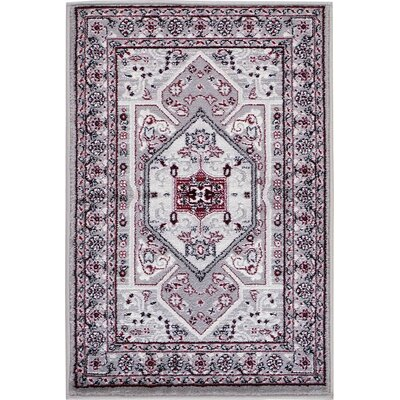 Valley Light Gray Area Rug Rug Size: 22 x 3