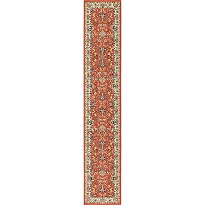 Essehoul Terracotta Area Rug Rug Size: Runner 3 x 165