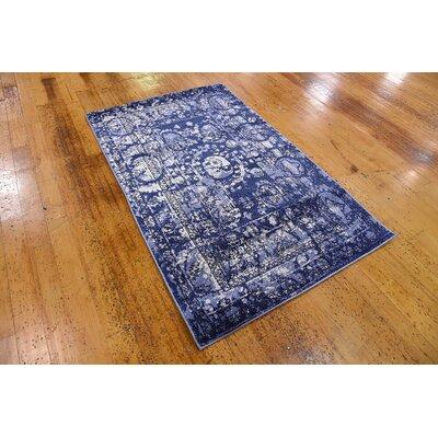 Kelaa Blue Area Rug Rug Size: Rectangle 33 x 53