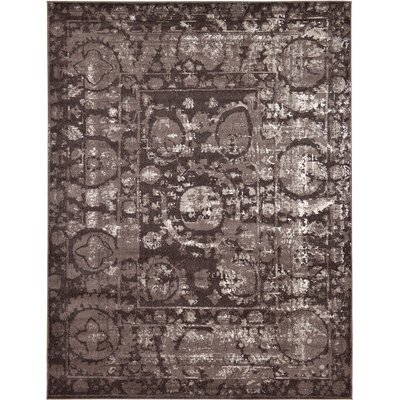 Kelaa Brown Area Rug Rug Size: 9 x 12