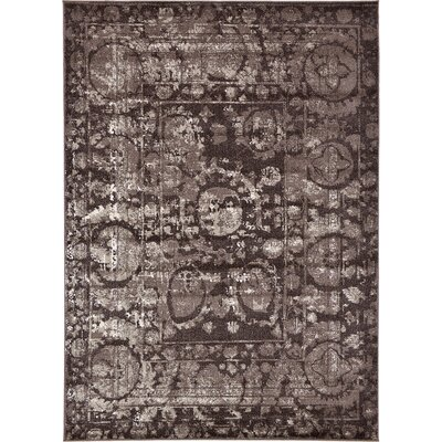 Kelaa Brown Area Rug Rug Size: 7 x 10