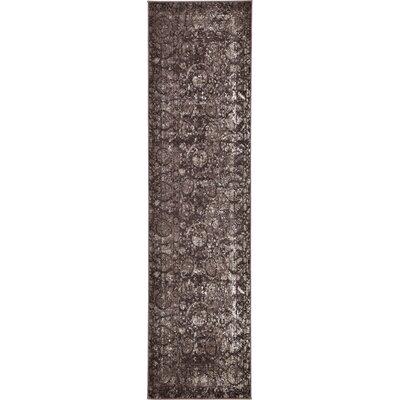 Kelaa Brown Area Rug Rug Size: Runner 27 x 10