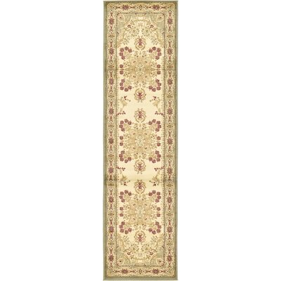 Anzac Cream Area Rug Rug Size: Runner 2'7