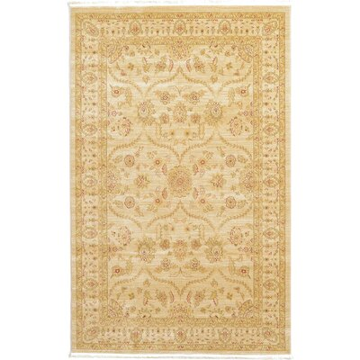 Fonciere Cream Area Rug Rug Size: 9 x 12