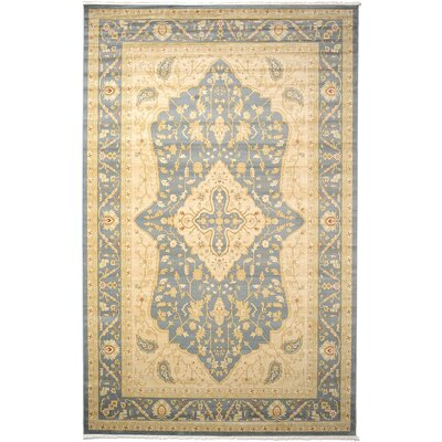Fonciere Blue/Cream Area Rug Rug Size: Runner 27 x 10