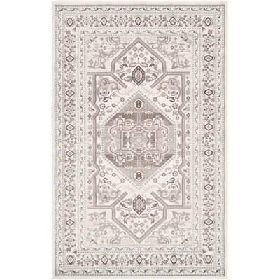 Valley Ivory Area Rug Rug Size: 411 x 8