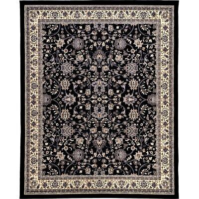 Essehoul Black Area Rug Rug Size: 8 x 10