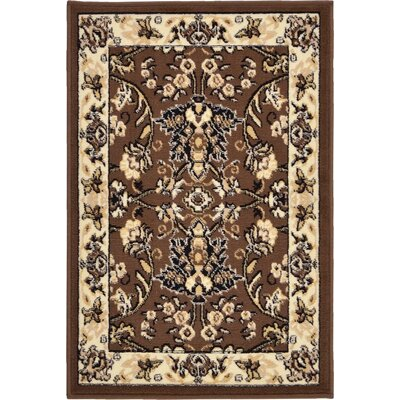 Essehoul Brown Area Rug Rug Size: 6 x 9