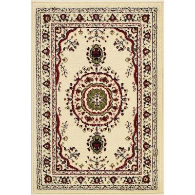 Essehoul Cream Area Rug Rug Size: 22 x 3