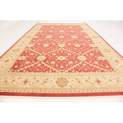 Fonciere Rust Red Area Rug Rug Size: Rectangle 106 x 165