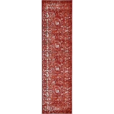 Kelaa Terracotta Area Rug Rug Size: Runner 27 x 10
