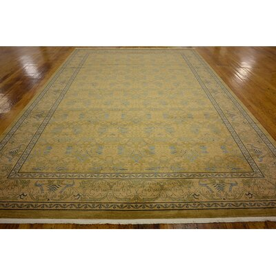 Fonciere Tan Area Rug Rug Size: Rectangle 106 x 165