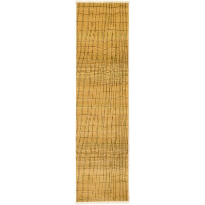 Foret Noire Brown Area Rug Rug Size: Runner 27 x 10