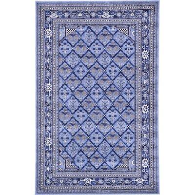 Katiranoma Blue Area Rug Rug Size: 33 x 53