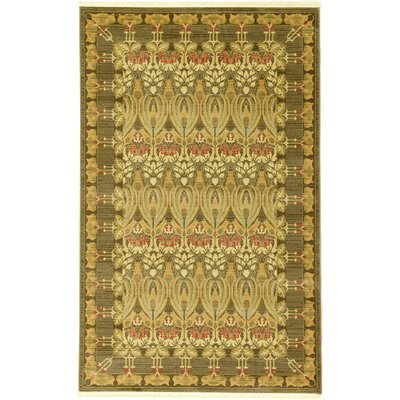 Willow Brown Area Rug Rug Size: 5 x 8