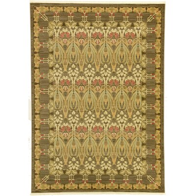 Willow Brown Area Rug Rug Size: 7 x 10