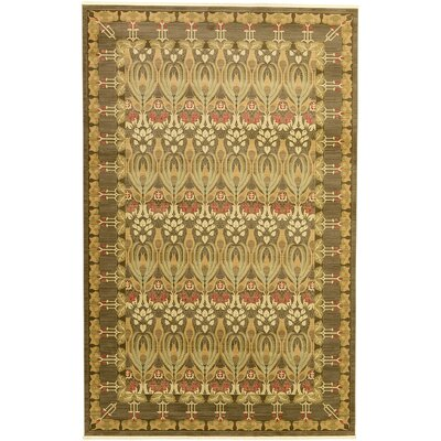 Willow Brown Area Rug Rug Size: 106 x 165