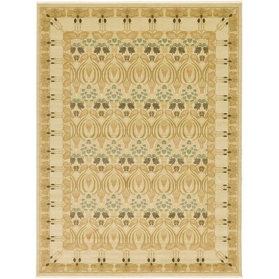 Willow Cream Area Rug Rug Size: 7 x 10