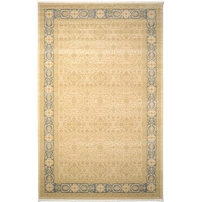 Willow Cream Area Rug Rug Size: 8 x 11