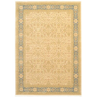 Willow Cream Area Rug Rug Size: 106 x 165